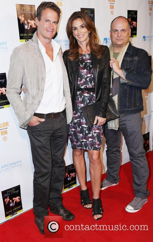 Rande Gerber, Cindy Crawford and Brian Edwards 5