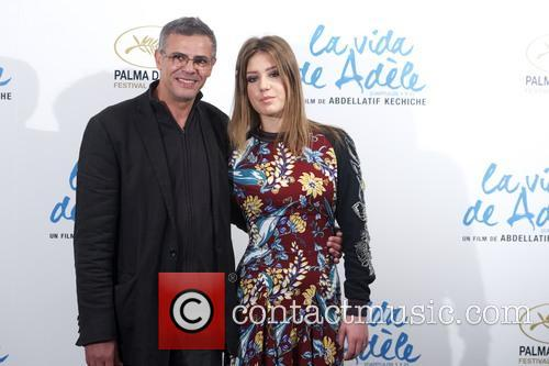 Adele Exarchopoulos and Abdellatif Kechiche 6