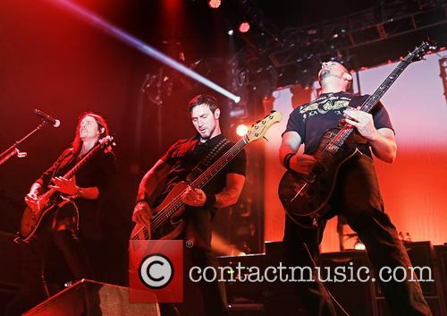 Alter Bridge, Myles Kennedy, Mark Tremonti and Brian Marshall 6