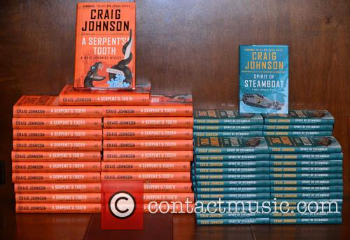 View Of Book On Display During Author Craig Johnson 1