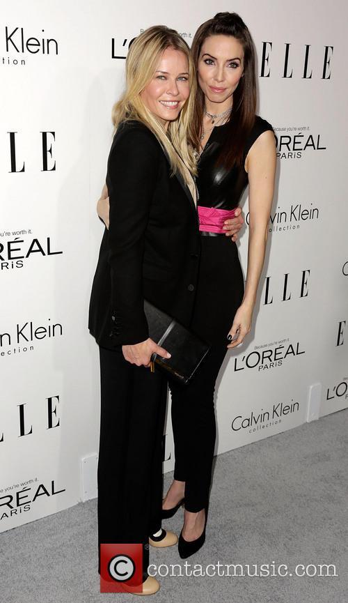 Chelsea Handler, Whitney Cummings, Four Seasons Hotel Beverly Hills.