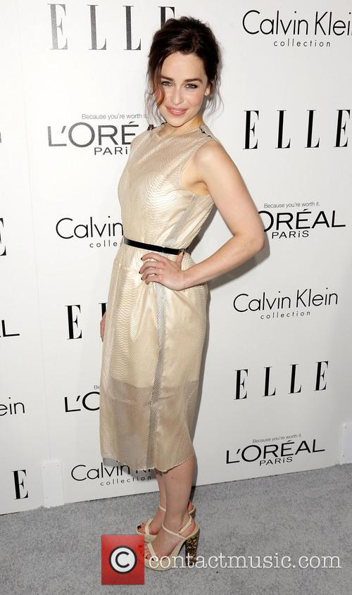 Emilia Clarke Elle