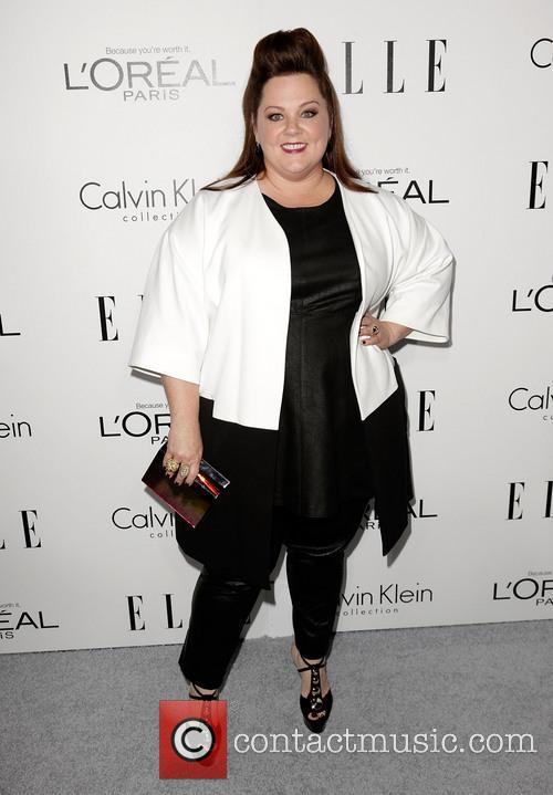 Melissa McCarthy, Four Seasons Hotel Beverly Hills.