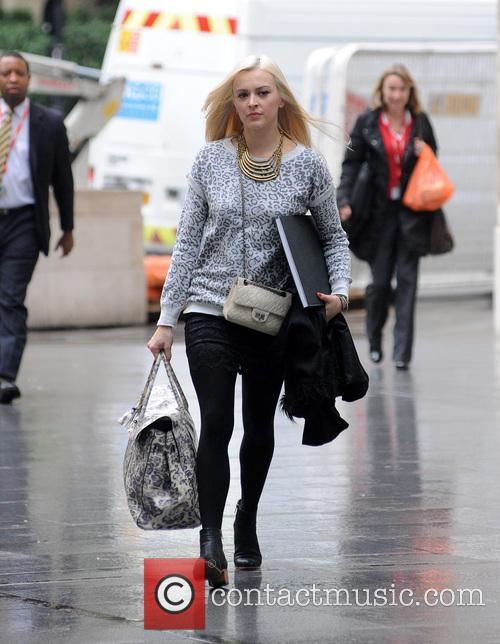 Fearne Cotton arrives at the BBC