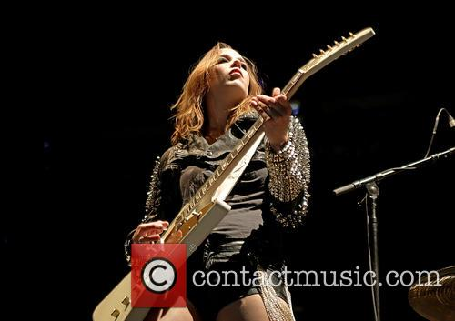 Halestorm and Lzzy Hale 3