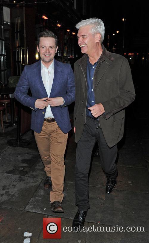 Declan Donnelly and Phillip Schofield 1
