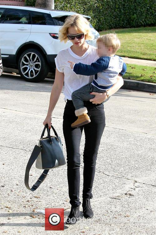 January Jones and Xander Dane Jones 2