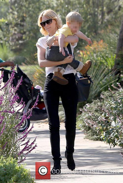 January Jones and Xander Dane Jones 6