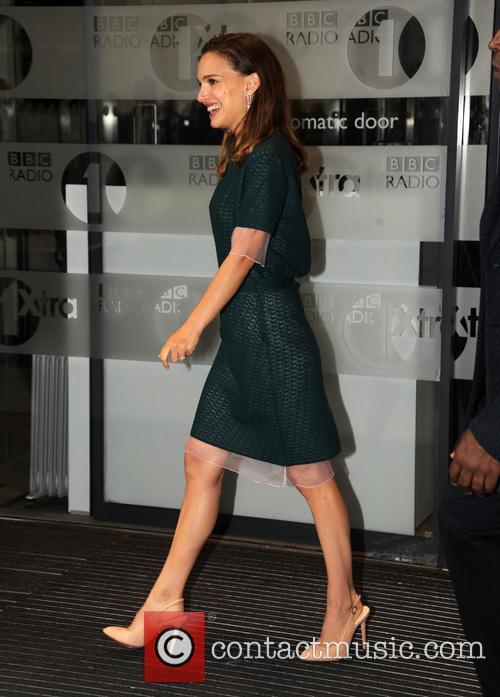 Natalie Portman at the BBC