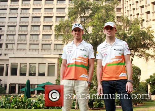 Paul Di Resta and Adrian Sutil 2