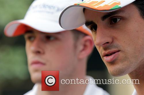 Paul Di Resta and Adrian Sutil 4