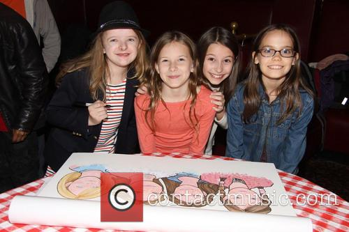 Milly Shapiro, Sophie Gennusa, Bailey Ryon and Oona Laurence 1