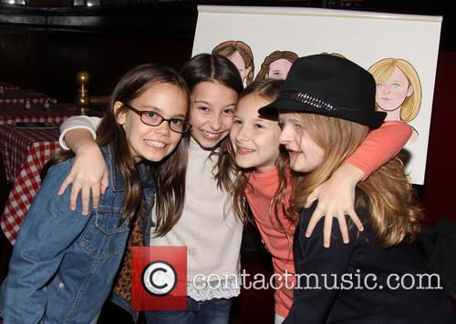 Oona Laurence, Bailey Ryon, Sophie Gennusa and Milly Shapiro 3