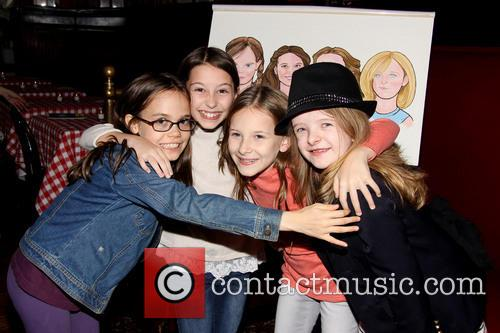 Oona Laurence, Bailey Ryon, Sophie Gennusa and Milly Shapiro 4