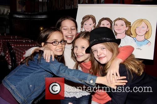 Oona Laurence, Bailey Ryon, Sophie Gennusa and Milly Shapiro 5