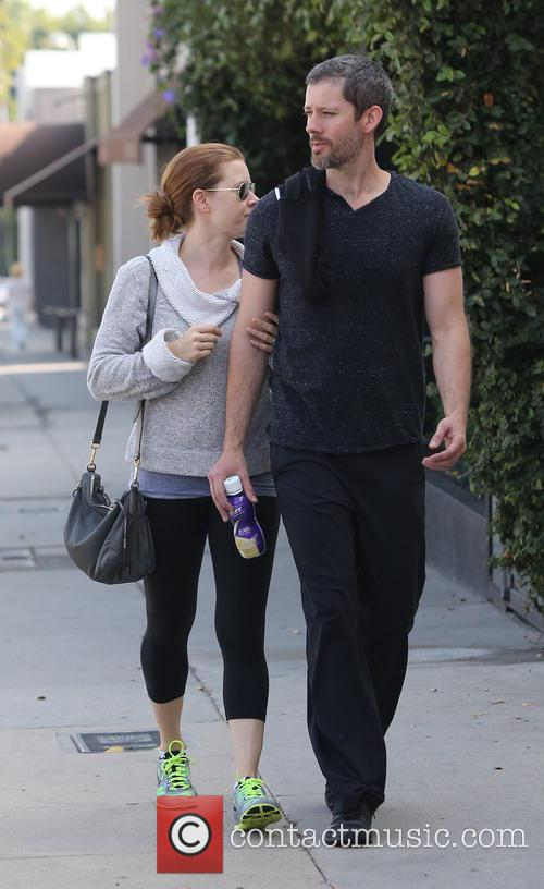Amy Adams leaving a gym in West Hollywood...