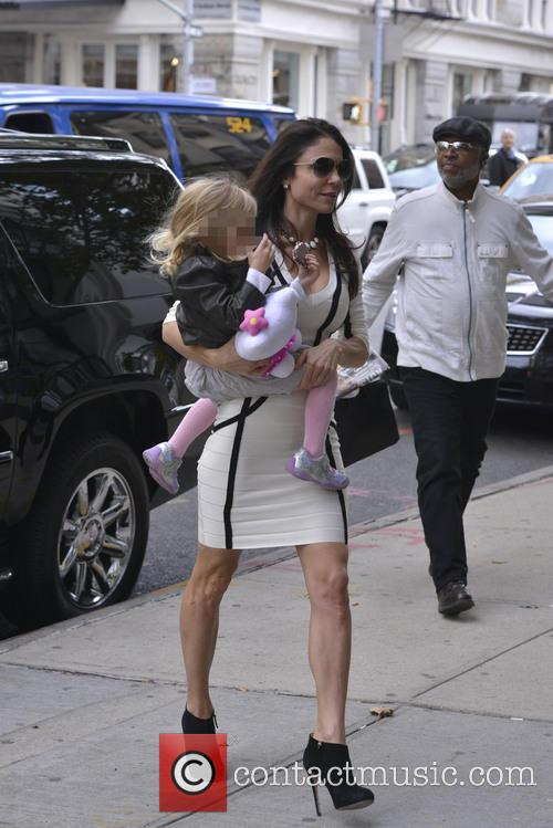 Bethenny Frankel On The School Run