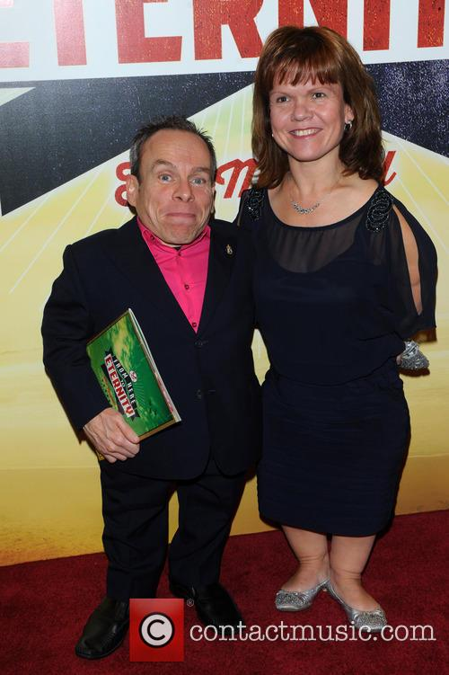 Warwick Davis and Samantha Davis 1