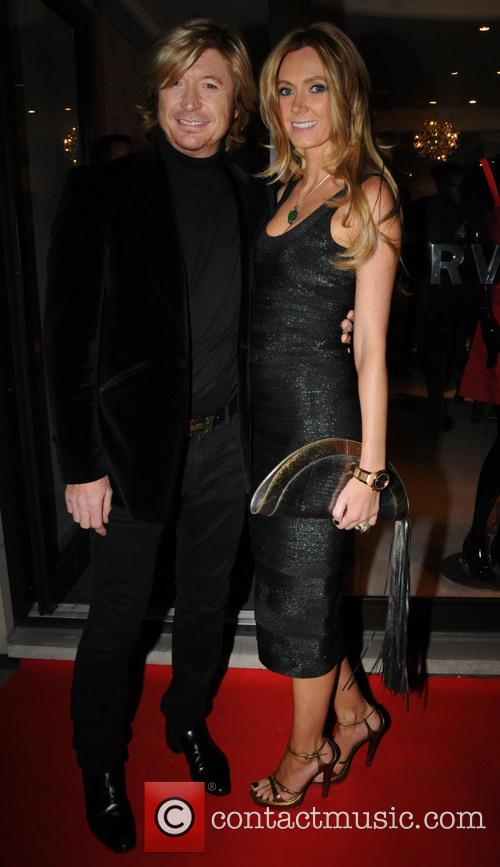 Kelly Simpkin and Nicky Clarke 2