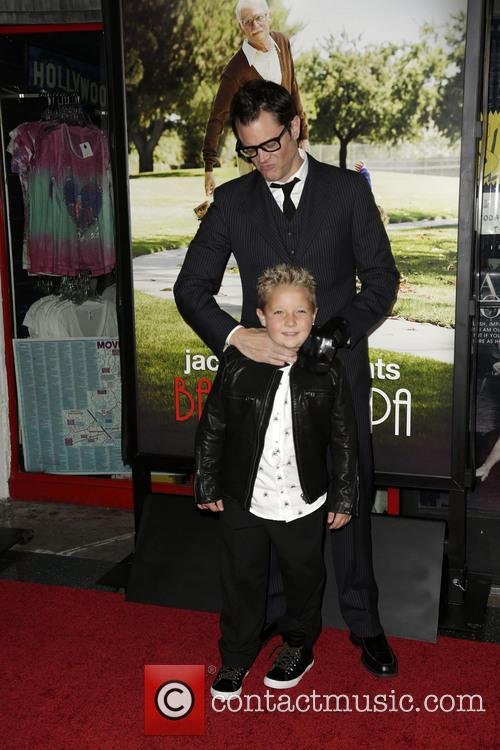 Jackson Nicoll and Johnny Knoxville 3