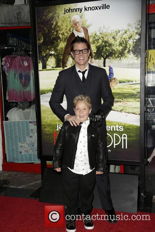 Jackson Nicoll and Johnny Knoxville 5