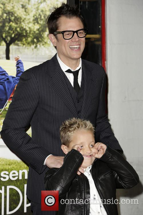Jackson Nicoll and Johnny Knoxville 1