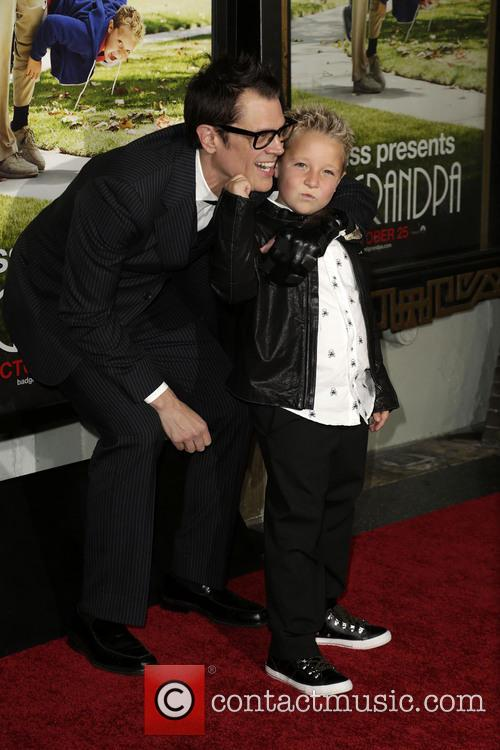 Jackson Nicoll and Johnny Knoxville 10