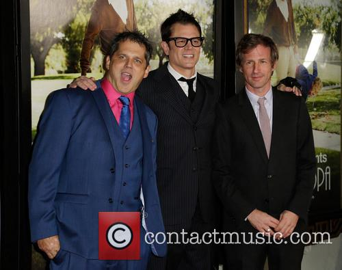 Jeff Tremaine, Johnny Knoxville and Spike Jonze 3
