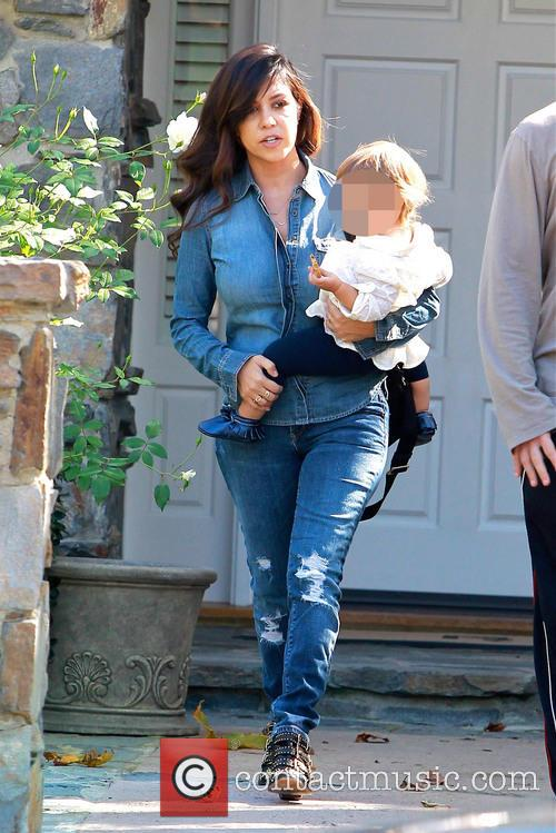 Kourtney Kardashian and Penelope Disick 9