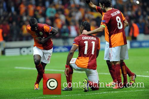 UEFA Champions Galatasaray and FC Copenhagen
