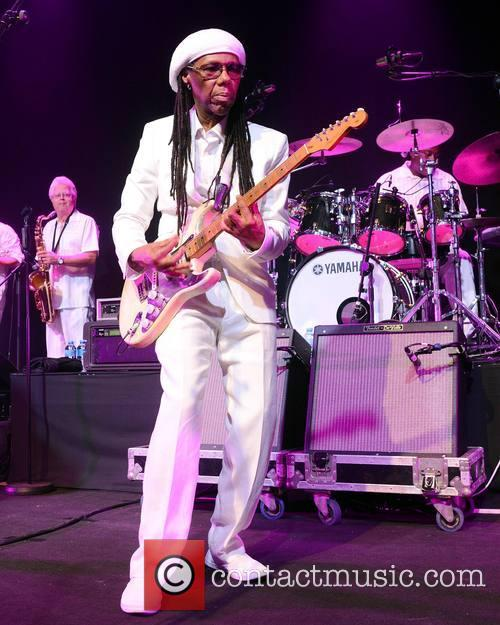 Nile Rodgers and his band