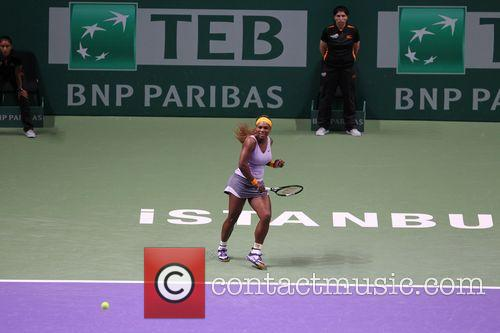 Wta Championships, Serena Williams and Agnieszka Radwanska 4