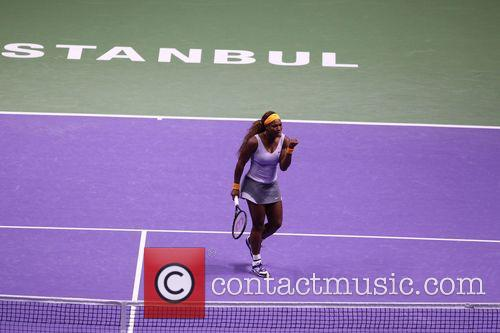 Wta Championships, Serena Williams and Agnieszka Radwanska 11