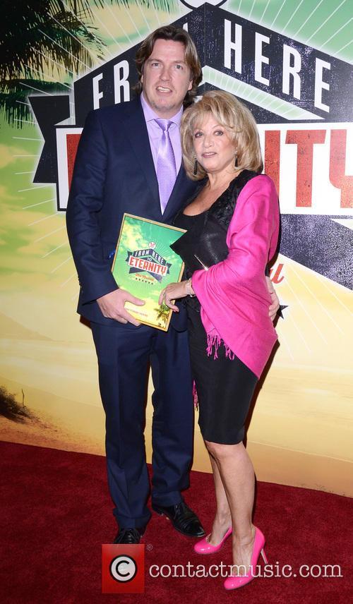 Justin Maddison and Elaine Paige