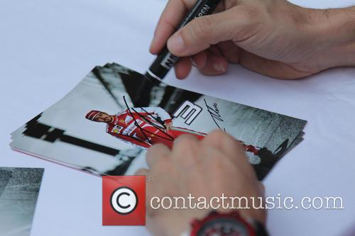 Fernando Alonso, Spain, Team Ferrari and Autograph 1