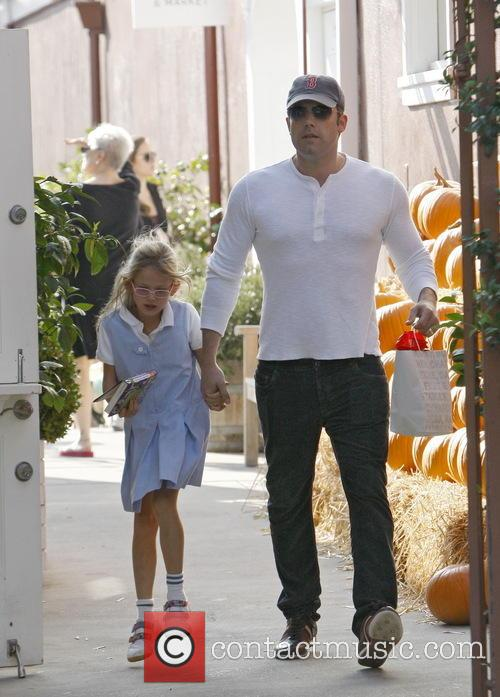 Ben Affleck At Brentwood Country Mart