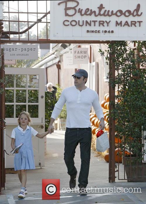 Ben Affleck and Violet Affleck 9