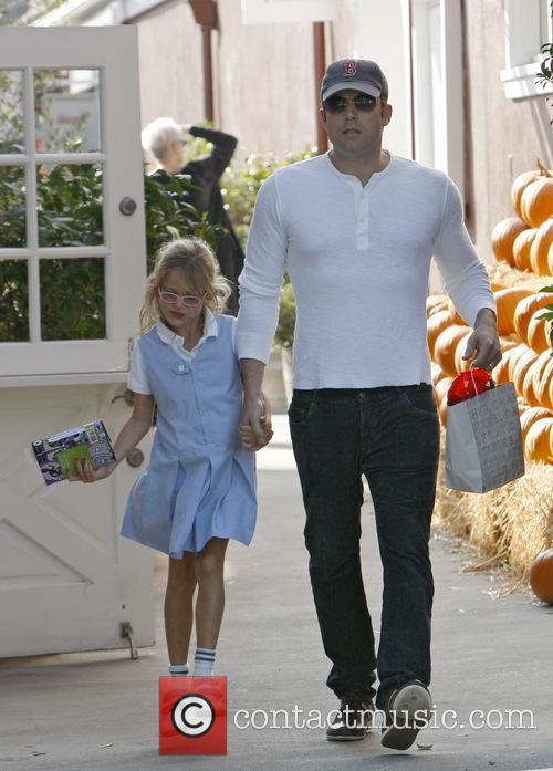 Ben Affleck and Violet Affleck 12