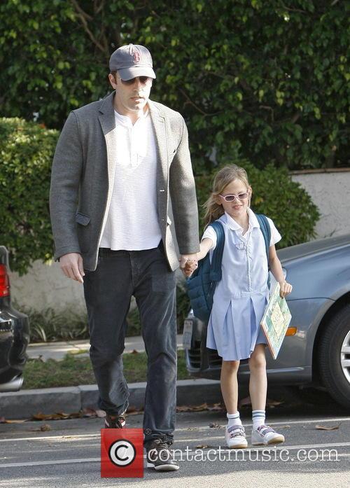 Ben Affleck and Violet Affleck 5