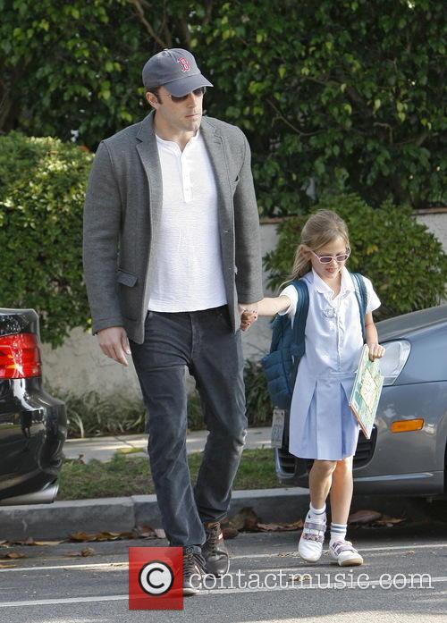 Ben Affleck and Violet Affleck 8