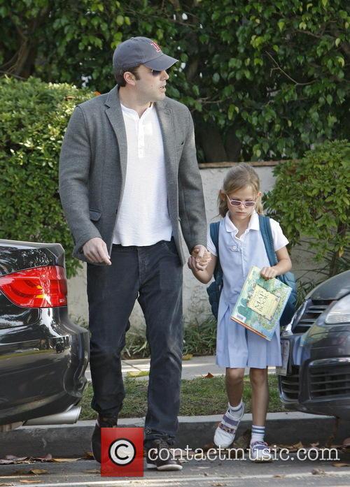 Ben Affleck On School Run