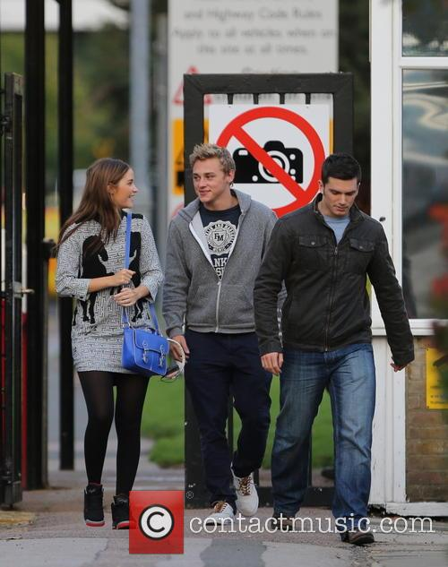 Jacqueline Jossa, Ben Hardy and David Witts 2