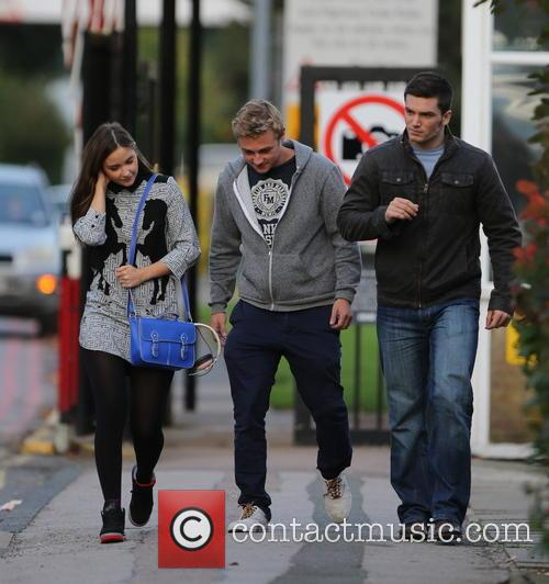 Jacqueline Jossa, Ben Hardy and David Witts 3