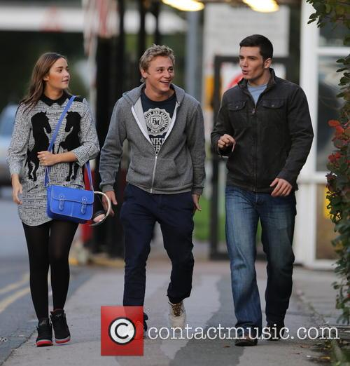 Jacqueline Jossa, Ben Hardy and David Witts 4