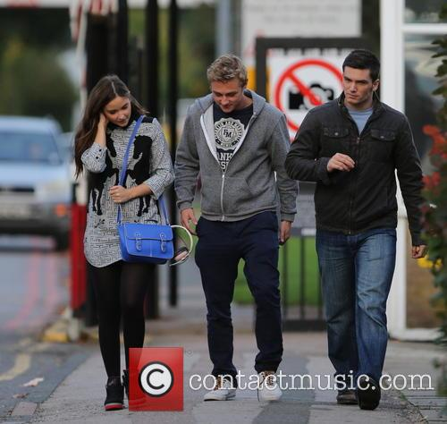 Jacqueline Jossa, Ben Hardy and David Witts 5