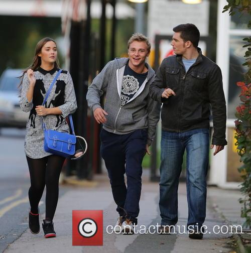 Jacqueline Jossa, Ben Hardy and David Witts 6