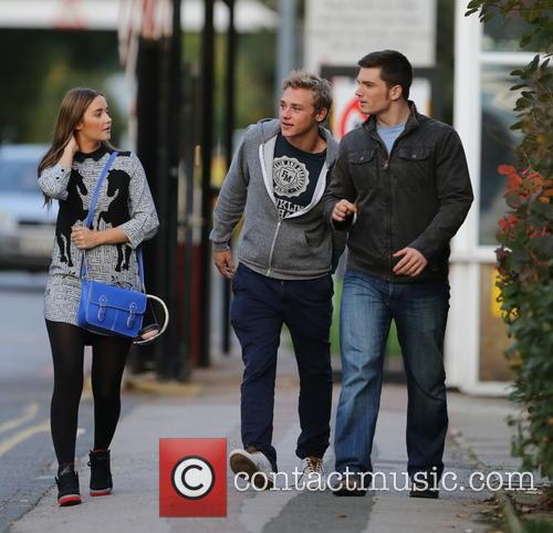 Jacqueline Jossa, Ben Hardy and David Witts 7