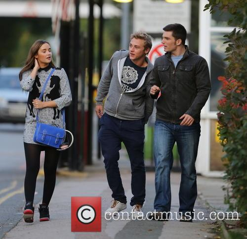 Jacqueline Jossa, Ben Hardy and David Witts 8
