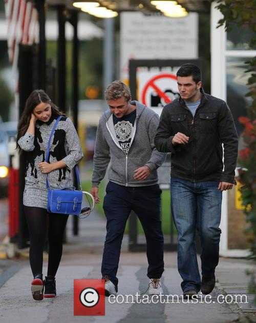 Jacqueline Jossa, Ben Hardy and David Witts 9