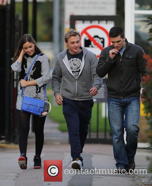 Jacqueline Jossa, Ben Hardy and David Witts 11